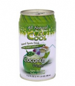 Coco Cool All Natural Coconut Water 330ml | Buy Online at The Asian Cookshop.